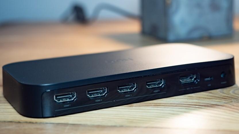 Die Play HDMI Sync Box für Philips Hue