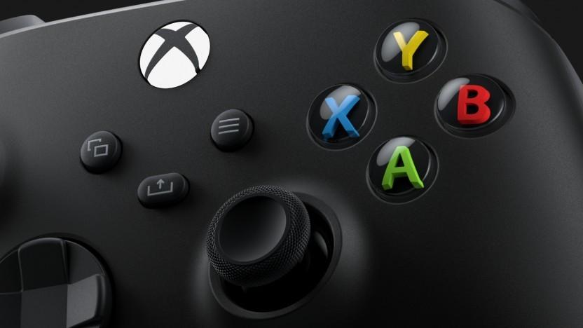 Artwork vom Controller der Xbox Series X