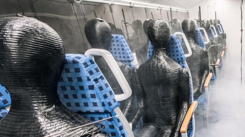 Dummies im Zuglabor: keine Aussagen über Infektiösität
