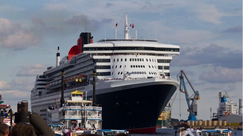 Passagierschiff Queen Mary 2: Schwefeldioxidkonzentration in der Luft 50 bis 70 Prozent geringer als 2014