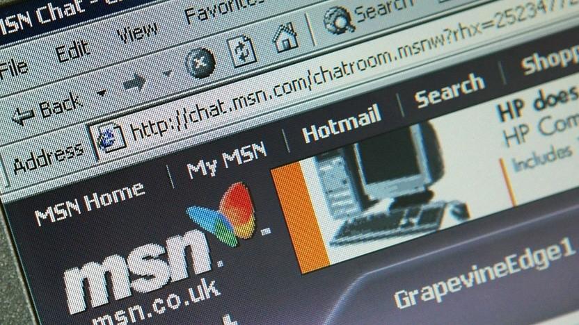 Alte MSN-Startseite: Journalisten suchten nach relevanten Geschichten.
