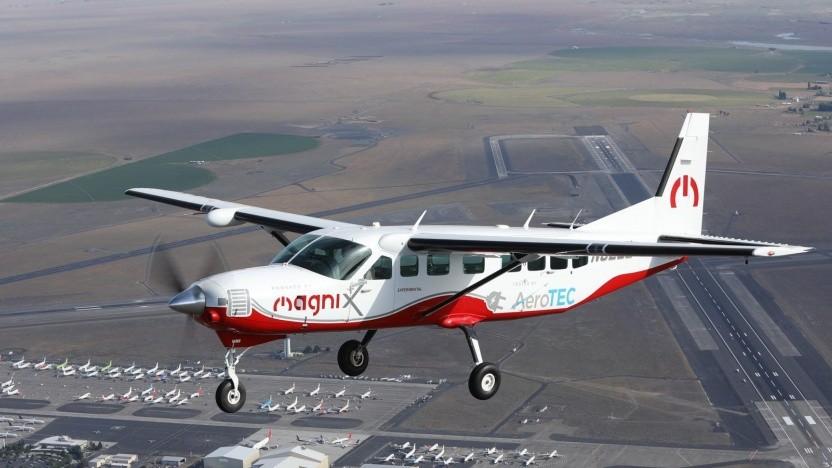 Cessna eCaravan: Flugzeit gleich Ladezeit