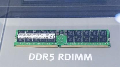 Ein DDR5-Modul von SK Hynix