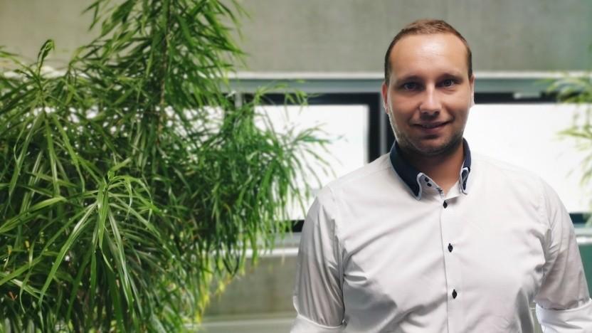 Stefan Siegl ist IT-Produktmanager und als solcher vor allem Vermittler.