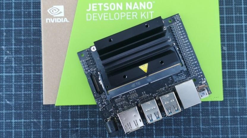 Der Jetson Nano kostet im Development Kit 109 Euro.
