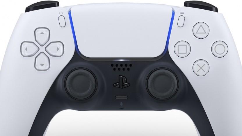 Artwork vom Controller der Playstation 5