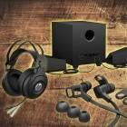 Zubehör: HP bringt neue Headsets, Lautsprecher und Ohrstöpsel