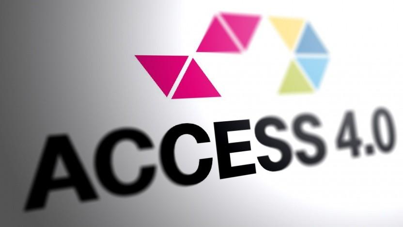 Das Logo des Projekts Access 4.0 im Jahr 2018
