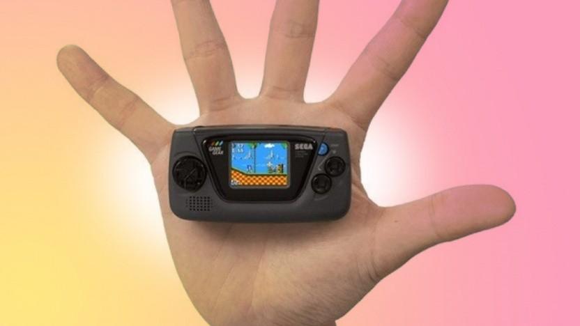 Artwork des Sega Game Gear Micro