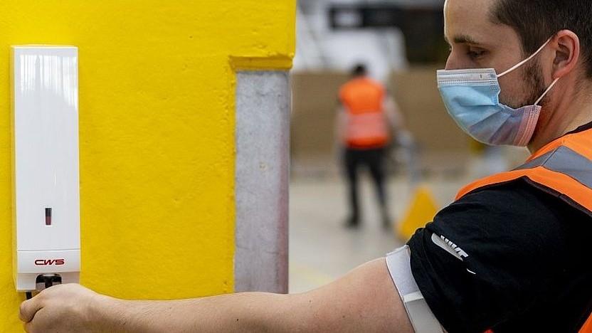 Beschäftigter bei Amazon Deutschland