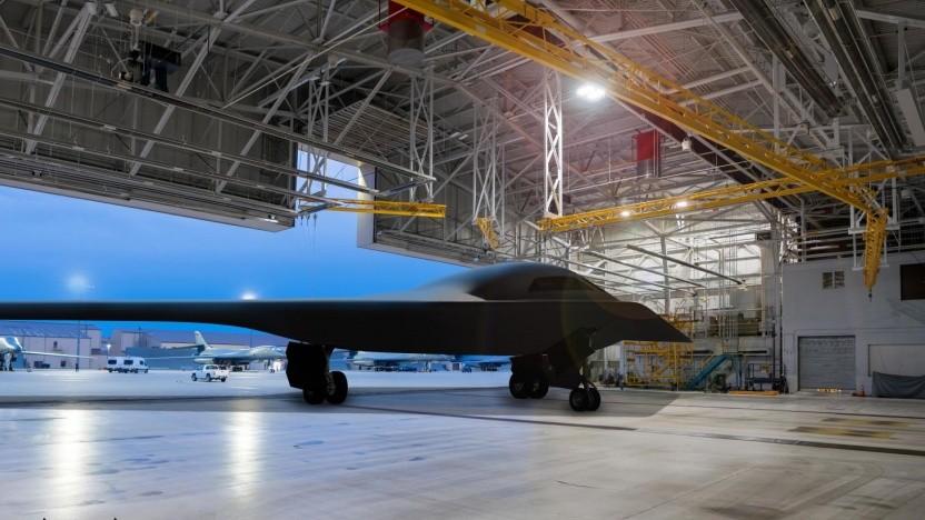 Der B-21 Raider wird wie der B-2 Spirit auch Atombomben tragen können.