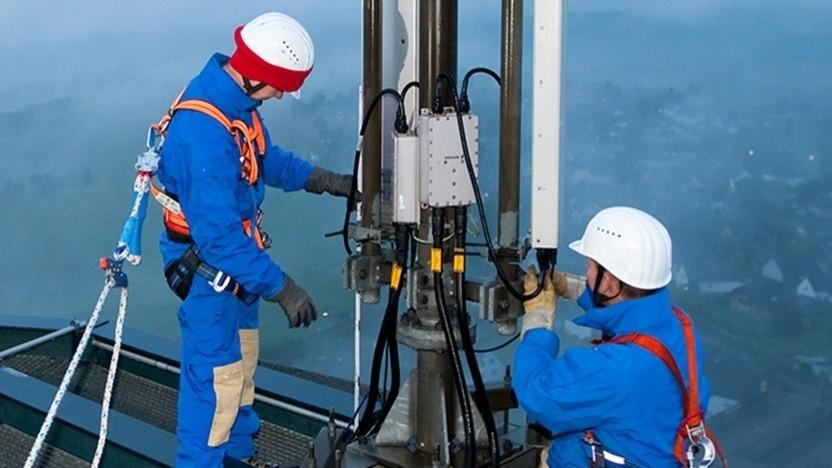 Bau von Mobilfunkanlagen von der Telekom-Tochter Deutsche Funkturm
