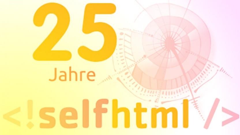 Selfhtml wird 25 - Golem.de gratuliert!