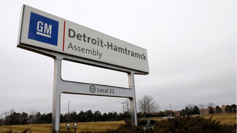 GM-Fabrik in Hamtramck: Hier soll der Lieferwagen BV1 gebaut werden.