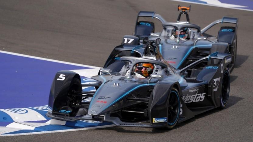 Das Formel-E-Rennen in Marrakesch am 29. Februar 2020