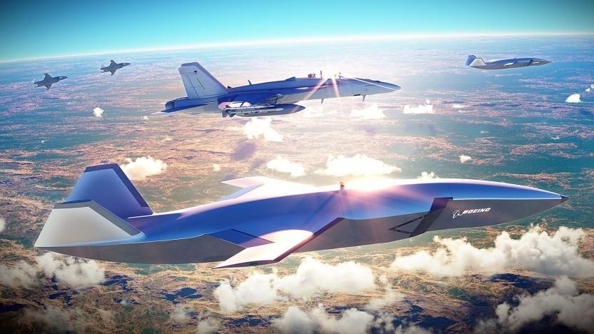 Boeing-Drohne Loyal Wingman: UCAV mit 20 Metern Spannweite