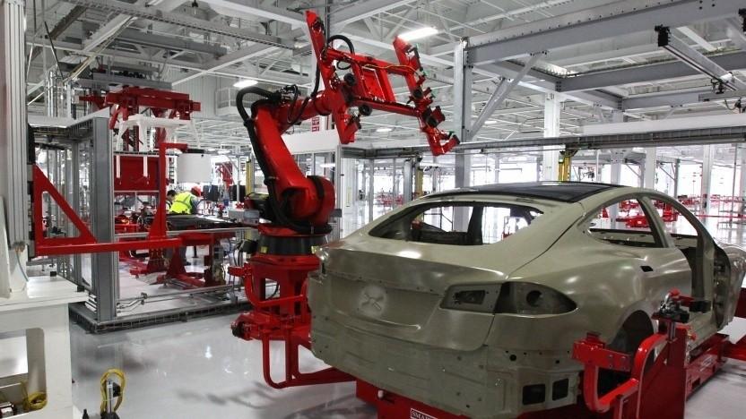 Elektroautoproduktion bei Tesla: Es wird bald besser.