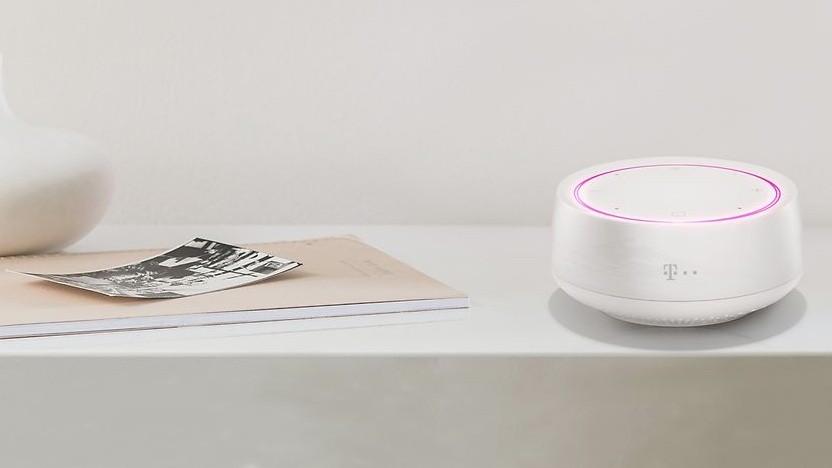 Der Smart Speaker Mini der Deutschen Telekom