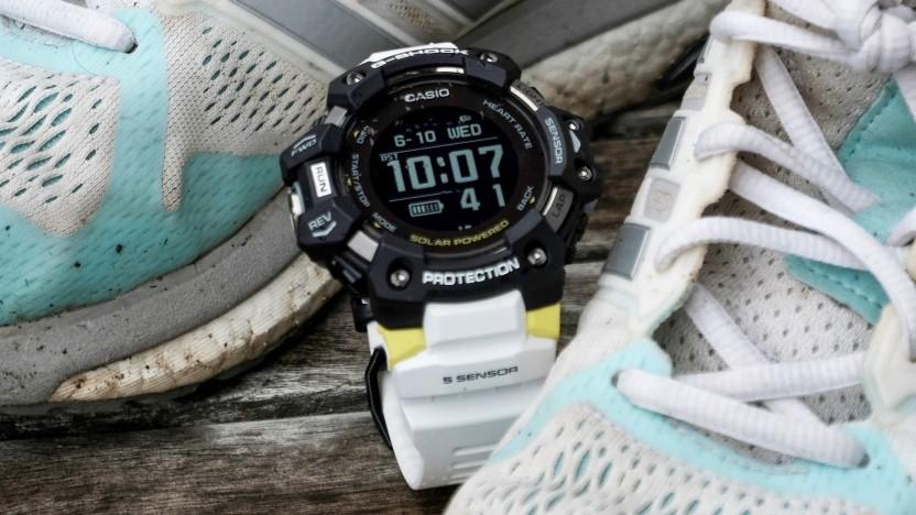Die Casio G-Shock GBD-H1000 nach einer Runde Jogging