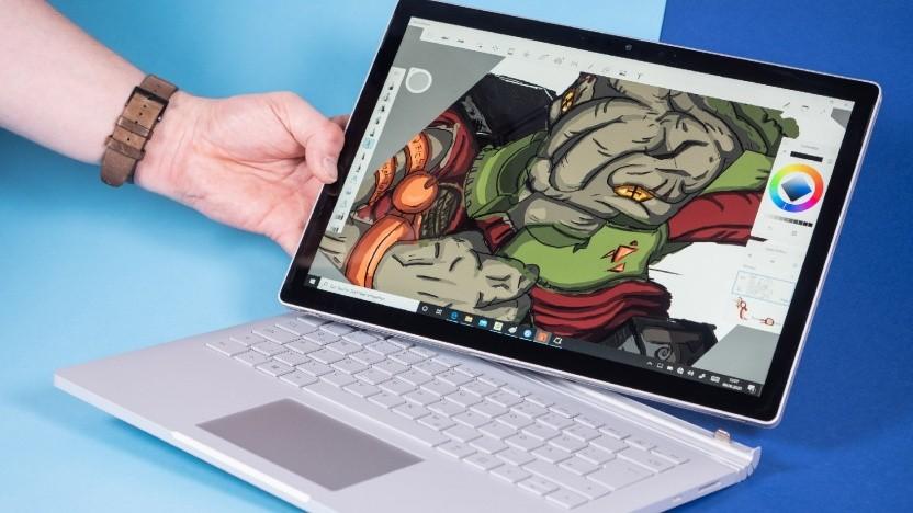 Das Display des Surface Book 3 lässt sich abnehmen.
