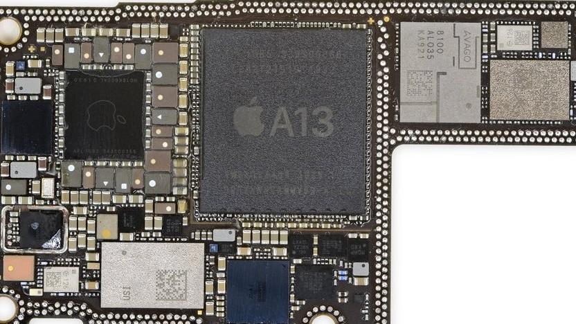 Apples aktueller A13-Chip des iPhone 11