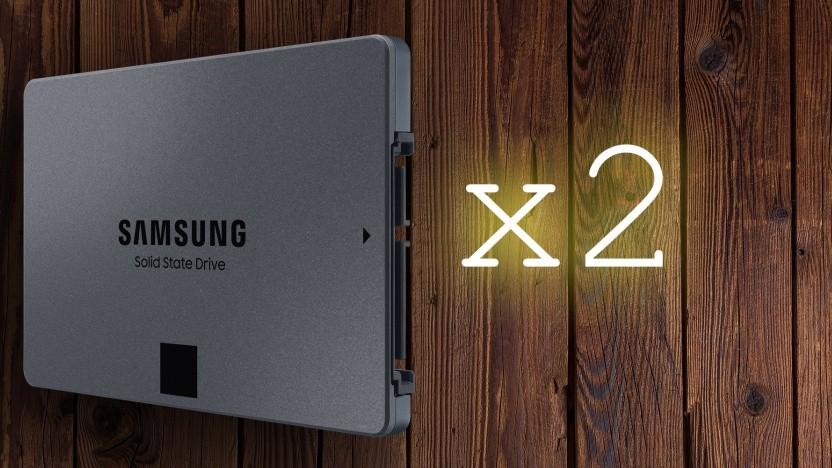 Samsung baut eine SATA-SSD mit 8 TByte Speicher.