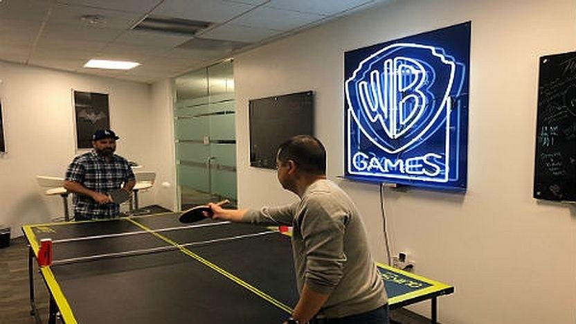 Angestellte in einem US-Standort von WB Games
