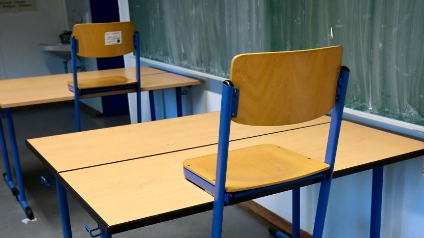 Klassenraum in Berlin