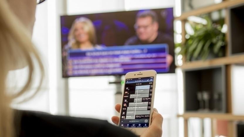 Die Mobiloption von Waipu TV kostet 3 Euro pro Monat.