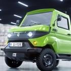 Evum aCar: Minimalistischer Elektrotransporter soll ab 29.900 Euro kosten