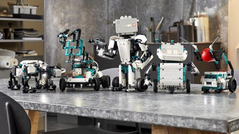 Mindstorms Robot Inventor ermöglicht wieder viele neue Roboterbausätze.