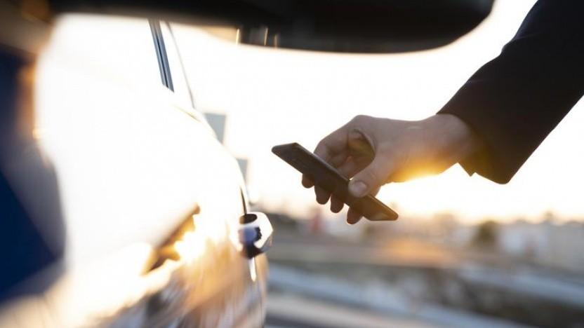 Das Smartphone als Autoschlüssel