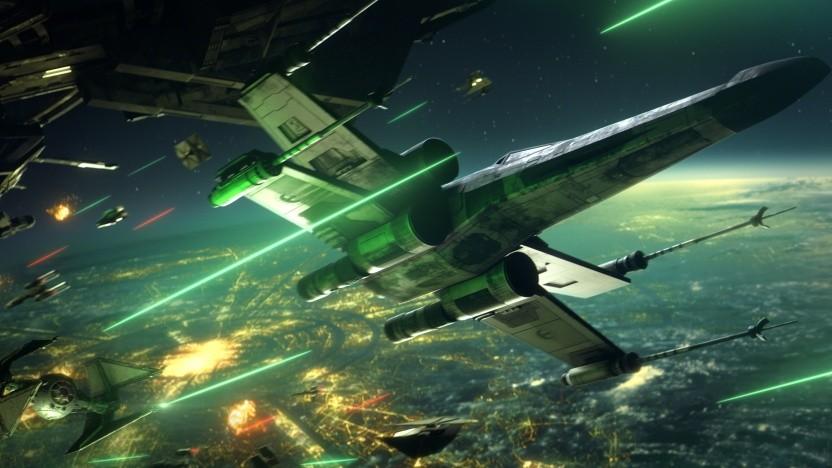 In Star Wars Squadrons sind Raumschlachten der Fokus.