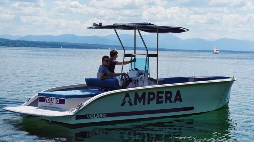 Motorboot mit Volaboantrieb: verschiedene Bootsantriebe elektrifizieren