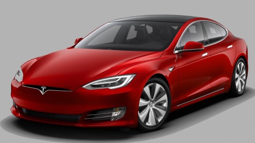 Model S mit den neuen Tempest-Felgen