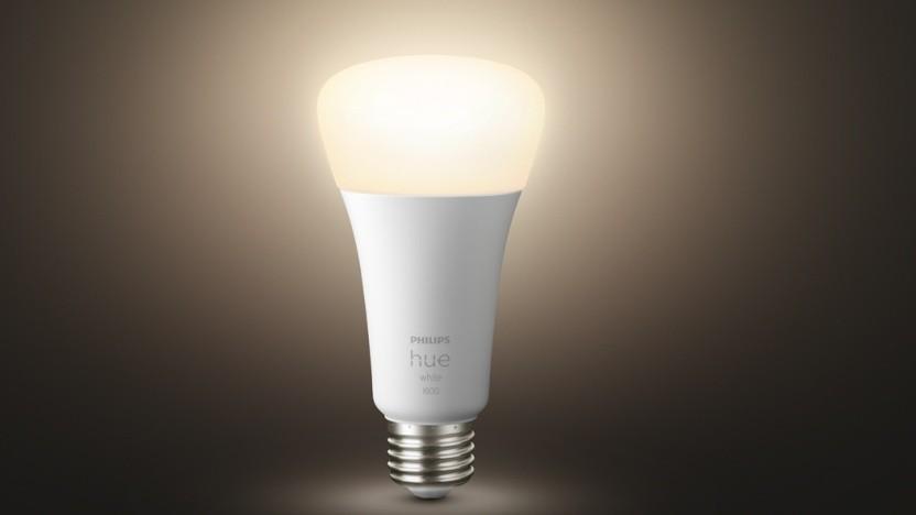 Neue Philips-Hue-Lampe liefert helles Licht.
