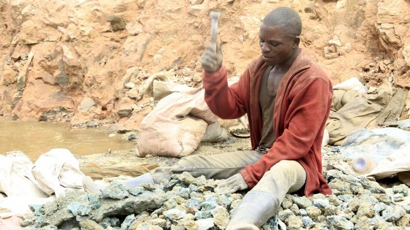 """Arbeiter in einer artisanalen Kobalt-Mine im Kongo: """"Das Hauptproblem sind unsichere Arbeitsbedingungen."""""""
