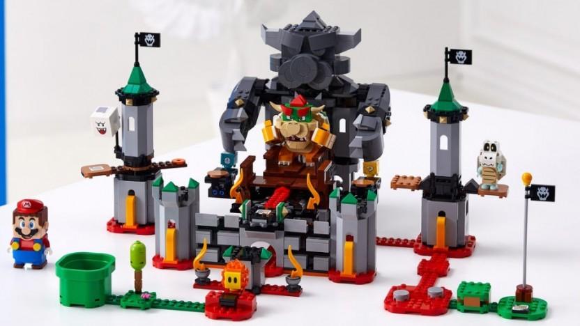Lego Super Mario bringt viele bekannte Charaktere wie Bowser.