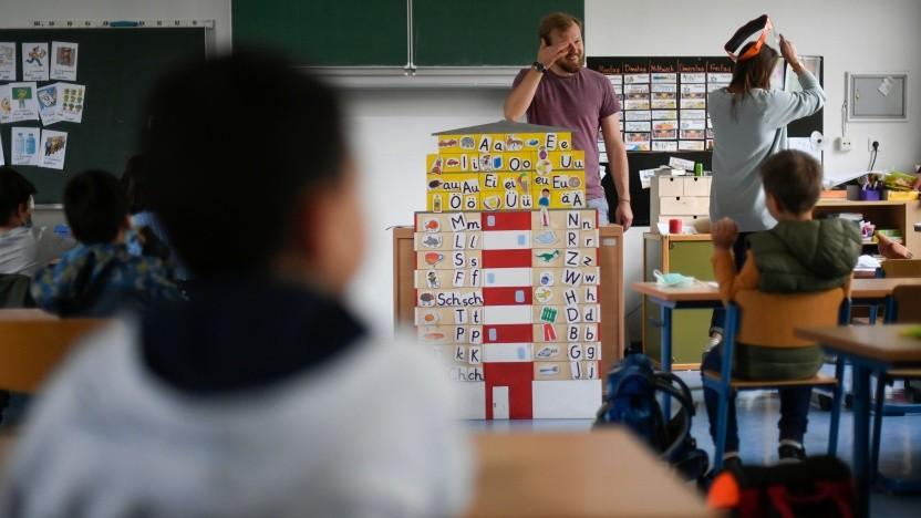 Die Petri-Grundschule in Dortmund im Juni 2020