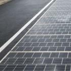 Erneuerbare Energien: Berliner Unternehmen nimmt Solarstraße in Betrieb