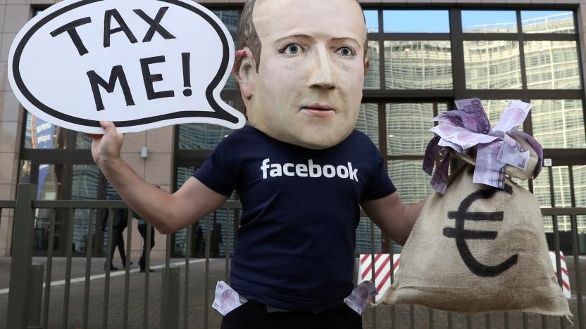 Facebook könnte künftig international höher besteuert werden.