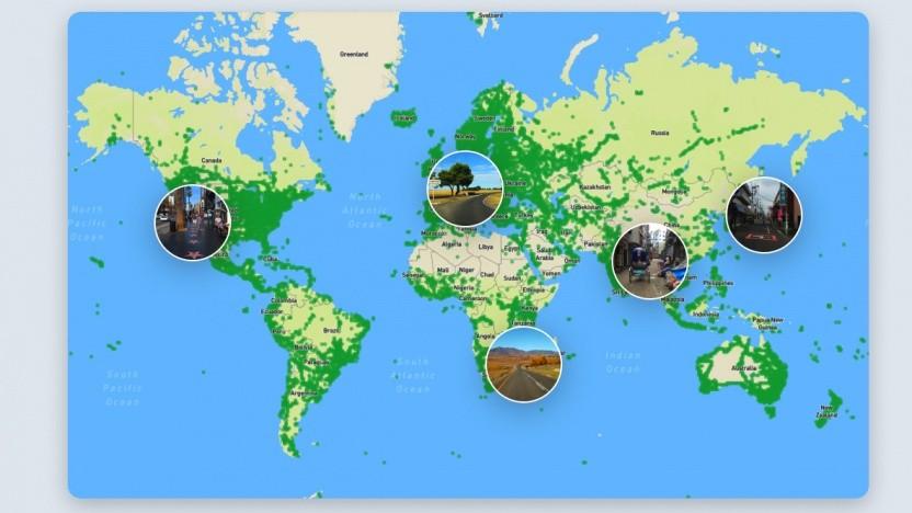 Mapillary sammelt Fotos zur Unterstützung von Karten.
