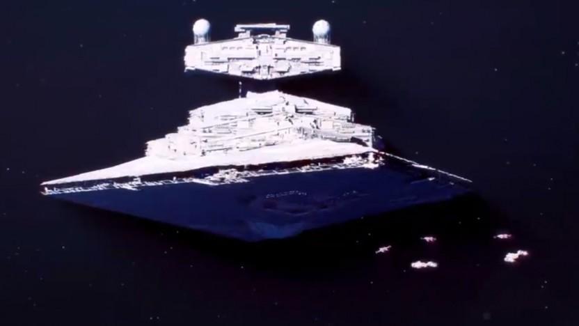 In Star Wars Squadrons geht es daran, Sternzerstörer zu beseitigen.