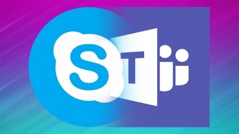 Bei allen arbeiten Teams und Skype noch nicht zusammen.