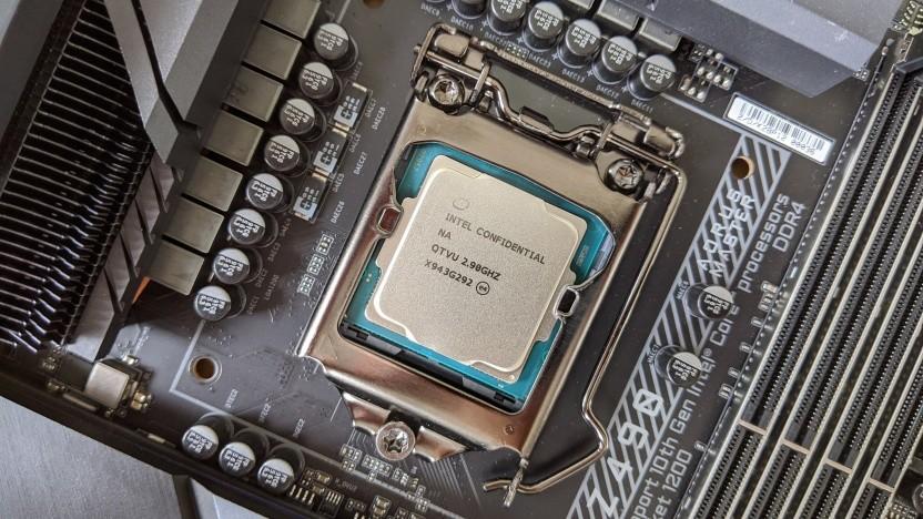 QS eines Core i5-10400F auf einem Gigabyte Z490 Aorus Master