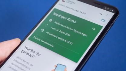 Corona-Warn-App: Mehr als 10 Millionen Downloads in fünf Tagen – Golem.de