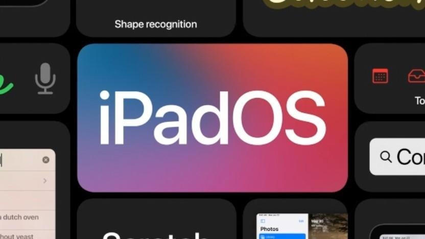 iPadOS 14 geht mit dem Bildschirmplatz ökonomischer um.
