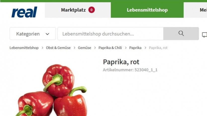 Lebensmittel online kaufen