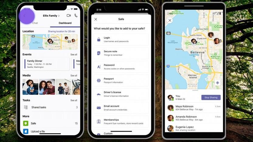 Die mobile Teams-App wird zum Familienmanagement-Tool.