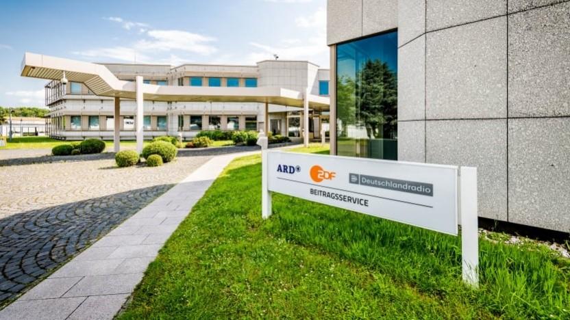 Der Sitz des Beitragsservices von ARD und ZDF